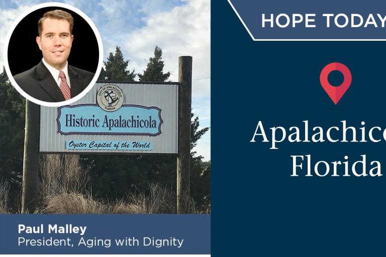 Hope Today Visit to Apalachicola