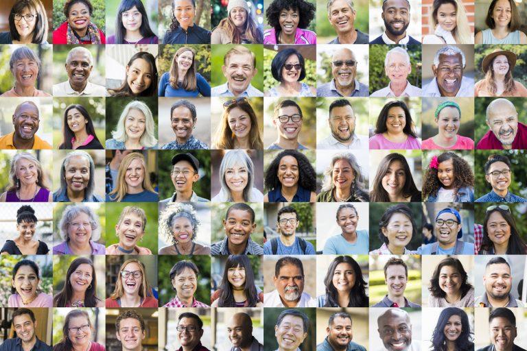 Diverse Human Faces